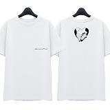 [슈퍼레이티브] superlative - [SST315] AMOR MIO 반팔 티셔츠 - 반팔 티셔츠 - 화이트