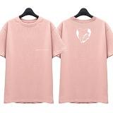 [슈퍼레이티브] superlative - [SST315] AMOR MIO 반팔 티셔츠 - 반팔 티셔츠 - 핑크