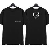 [슈퍼레이티브] superlative - [SST315] AMOR MIO 반팔 티셔츠 - 반팔 티셔츠 - 블랙