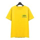 [슈퍼레이티브] superlative - [7J5015] COLOUR 반팔 티셔츠 - 반팔 티셔츠 - 옐로우