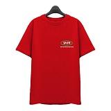 [슈퍼레이티브] superlative - [7J5015] COLOUR 반팔 티셔츠 - 반팔 티셔츠 - 레드
