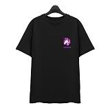 [슈퍼레이티브] superlative - [7J5017] UNIQUE CORN 반팔 티셔츠 - 반팔 티셔츠 - 블랙