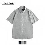 브렌슨 - 피그 바이오 린넨 포켓 셔츠