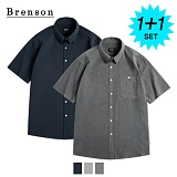 [1+1]브렌슨 - 피그 바이오 린넨 포켓 셔츠
