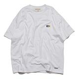 프랭크도미닉 - SHARK ICON OVERSIZE T-SHIRT(WHITE) 오버핏 티셔츠