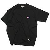 프랭크도미닉 - SHARK ICON OVERSIZE T-SHIRT(BLACK) 오버핏 티셔츠