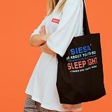 SIESTA SHOULDER BAG [BLACK] 에코백 토트백 숄더백