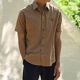 [모니즈] 데일리 기본 반팔 셔츠 (5color) SHT600