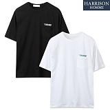[해리슨] 스탠다드 포켓 반팔티셔츠  SPG1184