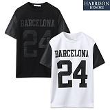 [해리슨] 바르셀로나 레자 반팔 티셔츠 MJB1250