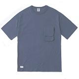 [언커먼팩터스]UFS-TACTICAL POCKET T-SHIRT(NAVY) 택티컬 포켓 반팔 반팔티 티셔츠