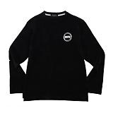 [컨셉츄얼] Conceptural - 써클 긴팔 티셔츠 블랙