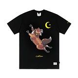 STIGMA - FOX T-SHIRTS BLACK 반팔티셔츠