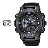 큐앤큐 - GW87J-003Y MAN-BLACK 전자시계