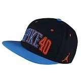 [NIKE]나이키 조던 모자 뉴에라 스냅백 724906 010 블랙 NIKE JORDAN CAP 정품 국내배송