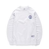 [본챔스] BORN CHAMPS BCHMPS 08 CREWNECK WHITE CEPAMMT01WH 크루넥 맨투맨 스��셔츠