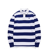 [본챔스] BORN CHAMPS 08 STRIPE PK TEE WHITE CEPAMPQ01WH 긴팔티