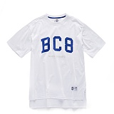 [본챔스] BORN CHAMPS BC8 BASIC TEE WHITE CEPBMTS02WH 반팔티