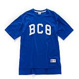 [본챔스] BORN CHAMPS BC8 BASIC TEE BLUE CEPBMTS02BL 반팔티