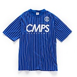 [본챔스] BORN CHAMPS CMPS STRIPE TEE BLUE CEPBMTS05BL 반팔티