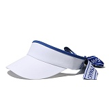 [본챔스] BORN CHAMPS BC TAPE SUN VISOR WHITE CEQFMCA05WH 썬캡