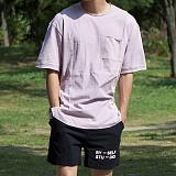 [모니즈] 절개 컷팅 반팔 티셔츠 (3color) TSB110