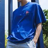 [모니즈] 수박 자수 반팔 티셔츠 (3color) TSB098