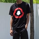 [모니즈] 모즈실켓 반팔 티셔츠 (2color) TSB094