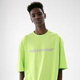 [매스노운]MASSNOUN 다크문 스카치 오버핏 반팔 티셔츠 MUVTS011-LG
