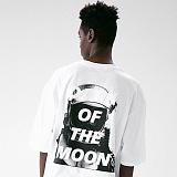 [매스노운]MASSNOUN 다크문 스카치 오버핏 반팔 티셔츠 MUVTS011-WT