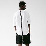 [매스노운]MASSNOUN 디비전 오버핏 반팔 티셔츠 MUVTS012-WT