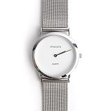 스타카토 - 드레스업 메탈 손목시계 380 [실버] 메탈시계