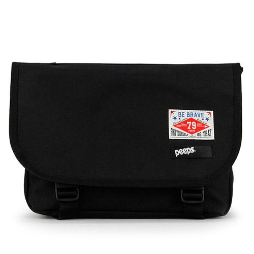 [핍스] PEEPS E2 mini messenger bag(black)