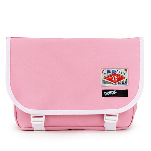 [핍스] PEEPS E2 mini messenger bag(pink)