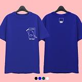 [슈퍼레이티브] superlative - [7J5018] LOOK 반팔 티셔츠 - 반팔 티셔츠 - 4컬러 반팔티 티셔츠