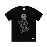 STIGMA - NUCLEAR T-SHIRTS BLACK 반팔티셔츠
