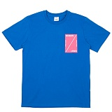 [센스스튜디오] SENSESTUDIO - SIDE RECT T (COBALT) 반팔 반팔티 티셔츠