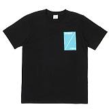 [센스스튜디오] SENSESTUDIO - SIDE RECT T (BLACK) 반팔 반팔티 티셔츠