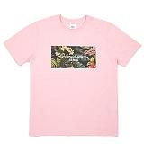 [센스스튜디오] SENSESTUDIO - TROPICAL YOUTH T (PINK) 반팔 반팔티 티셔츠