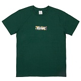 [센스스튜디오] SENSESTUDIO - TROPICAL BOX LOGO T (GREEN) 반팔 반팔티 티셔츠