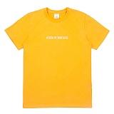 [센스스튜디오] SENSESTUDIO - SHOW ME T (GOLD YELLOW) 반팔 반팔티 티셔츠