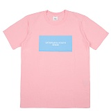 [센스스튜디오] SENSESTUDIO - SATURDAYS T (PINK) 반팔 반팔티 티셔츠