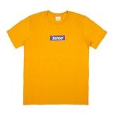 [센스스튜디오] SENSESTUDIO - SENSE BOX LOGO T (GOLD YELLOW) 반팔 반팔티 티셔츠