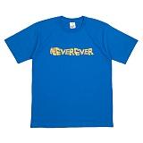 [네버에버] NEVEREVER - WAVE KISS T (COBALT BLUE) 반팔 반팔티 티셔츠