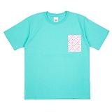 [네버에버] NEVEREVER - POP SIDE T (MINT) 반팔 반팔티 티셔츠