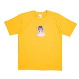 [네버에버] NEVEREVER - LIGHTNING T (GOLD YELLOW) 반팔 반팔티 티셔츠