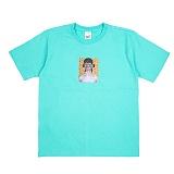 [네버에버] NEVEREVER - LIGHTNING T (MINT) 반팔 반팔티 티셔츠