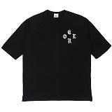 [네버에버] NEVEREVER - CORE T (BLACK) 반팔 반팔티 티셔츠