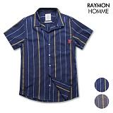 레이먼옴므 - 면ST GY셔츠 RH2308MT
