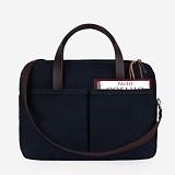 [모노노] MONONO - Vintage Brief Bag Super Oxford_Navy 캔버스 브리프 케이스 토트백
